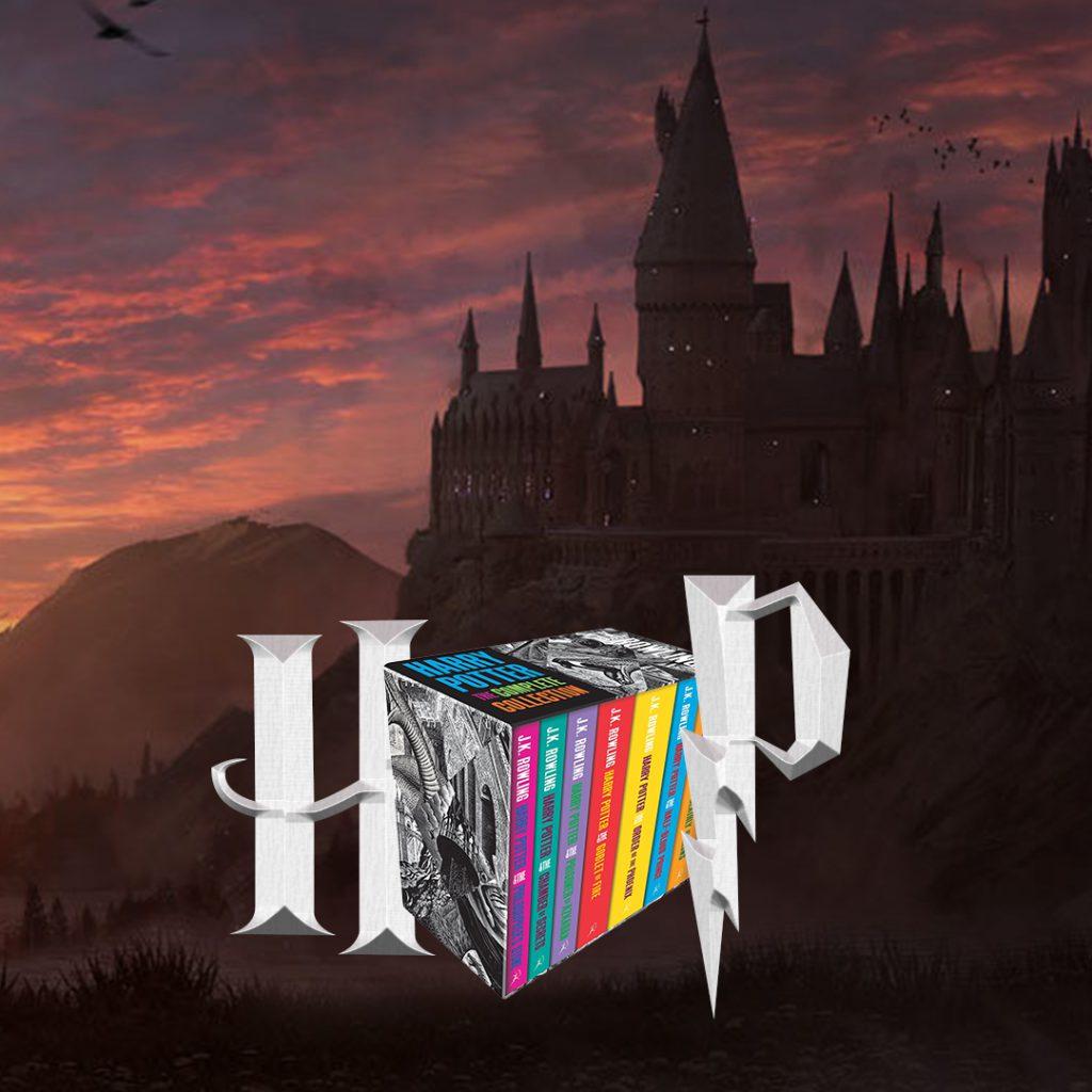 Harry Potter colectia completa in limba engleza J K Rowling Bookzone