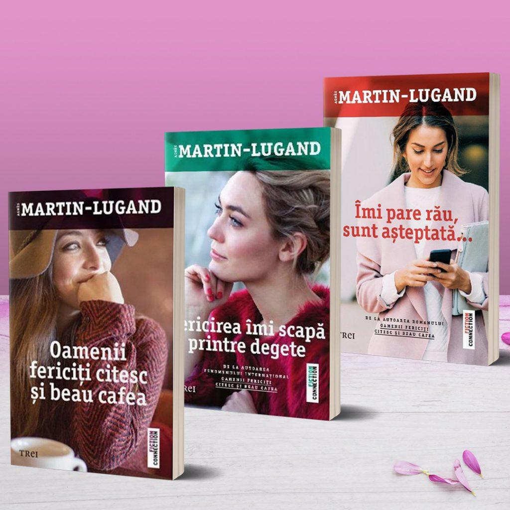 Pachet oamenii fericiti citesc Agnes Martin Lugand Bookzone