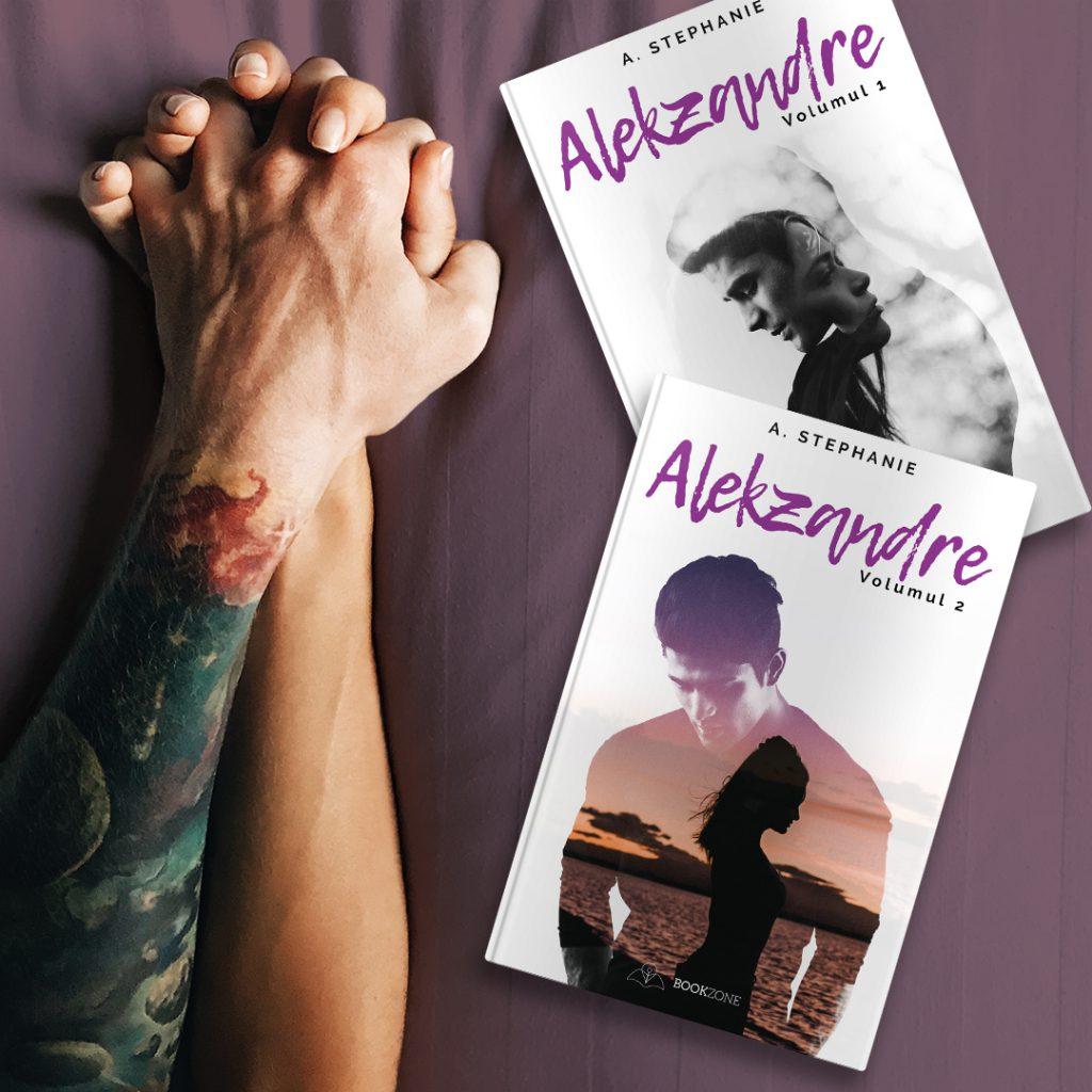 Roman Alekzandre A Stephanie editura Bookzone