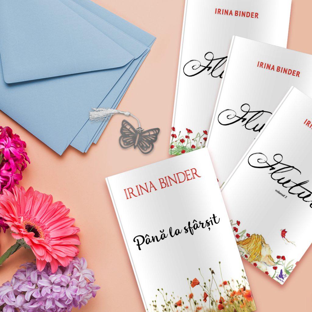 Seria Fluturi Irina Binder editura Bookzone